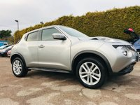 USED 2017 17 NISSAN JUKE 1.5 DCI N-CONNECTA 5d  STILL WITH REMAINING NISSAN WARRANTY  NO DEPOSIT  PCP/HP FINANCE ARRANGED, APPLY HERE NOW