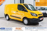 USED 2014 64 FORD TRANSIT CUSTOM 2.2 310 LR P/V 1d 124 BHP