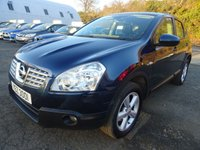 USED 2009 NISSAN QASHQAI 2.0 ACENTA 5d AUTO 140 BHP FULL SERVICE RECORD *  FULL YEAR MOT *  PARKING AID *  CLIMATE CONTROL *