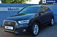 2014 AUDI Q3 2.0 TDI QUATTRO S LINE 5d AUTO 175 BHP £16840.00