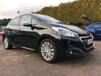 USED 2015 65 PEUGEOT 208 1.2 ALLURE 5d LOW MILEAGE AND ONE OWNER FROM NEW  NO DEPOSIT  PCP/HP FINANCE ARRANGED, APPLY HERE NOW