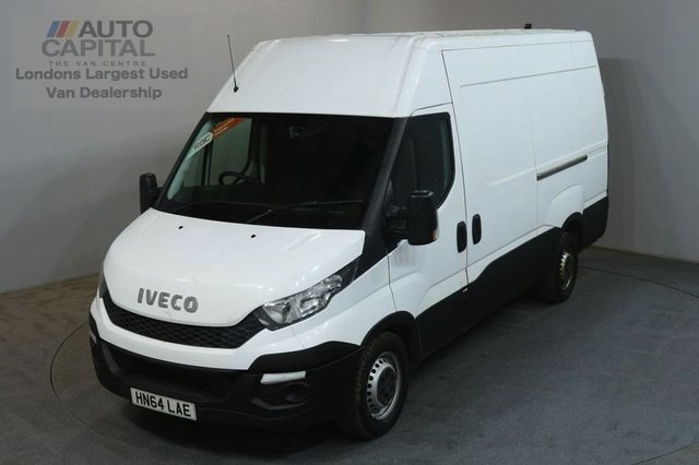 2014 64 IVECO DAILY 2.3 35S13V 126 BHP L2 MWB H/ROOF PANEL VAN ONE OWNER