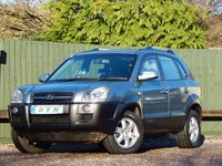 USED 2005 55 HYUNDAI TUCSON 2.0 CDX CRTD 4WD 5d 111 BHP SERVICE HISTORY, NEW MOT ON PURCHASE