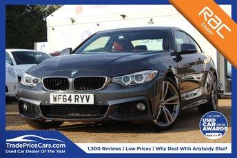 2014 BMW 4 SERIES 2.0 420D M SPORT 2d AUTO 181 BHP £16450.00