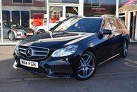 2014 MERCEDES-BENZ E CLASS 2.1 E250 CDI AMG SPORT 5d AUTO 202 BHP £13990.00