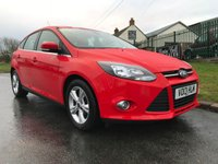 2013 FORD FOCUS 1.6 ZETEC TDCI 5 DOOR 54000 MILES 2 OWNERS FULL FORD HISTORY  £6295.00