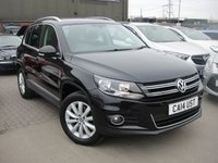 USED 2014 14 VOLKSWAGEN TIGUAN 2.0 MATCH TDI BLUEMOTION TECH 4MOTION DSG 5d AUTO 139 BHP ANY PART EXCHANGE WELCOME, COUNTRY WIDE DELIVERY ARRANGED, HUGE SPEC