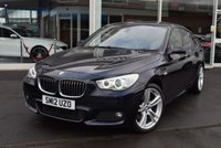 USED 2012 12 BMW 5 SERIES 3.0 530D M SPORT GRAN TURISMO 5d AUTO 242 BHP FINANCE TODAY WITH NO DEPOSIT