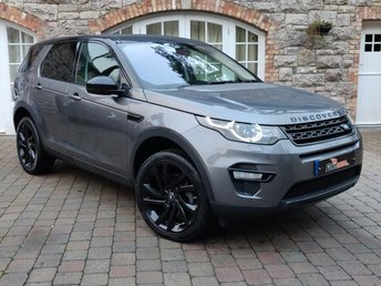 2016 LAND ROVER DISCOVERY SPORT 2.0 TD4 HSE BLACK 5d AUTO 180 BHP £28450.00