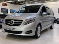 2016 MERCEDES-BENZ V CLASS 2.1 V250 BLUETEC SPORT 5d AUTO 188 BHP EXTRA LONG 8 SEATER  £34995.00
