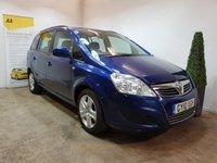 2010 VAUXHALL ZAFIRA 1.9 EXCLUSIV CDTI 5d AUTO 118 BHP £3990.00
