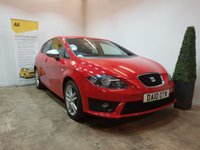 USED 2010 10 SEAT LEON 2.0 FR CR TDI 5d 168 BHP FULL SERVICE HISTORY 9 STAMPS IN THE SERVICE BOOK