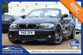 2012 BMW 1 SERIES 2.0 120D SPORT PLUS EDITION 2d 175 BHP £9700.00