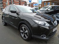 USED 2017 66 NISSAN QASHQAI 1.2 N-CONNECTA DIG-T XTRONIC 5d AUTO 113 BHP PAN ROOF, NAV, 13,000 MILES
