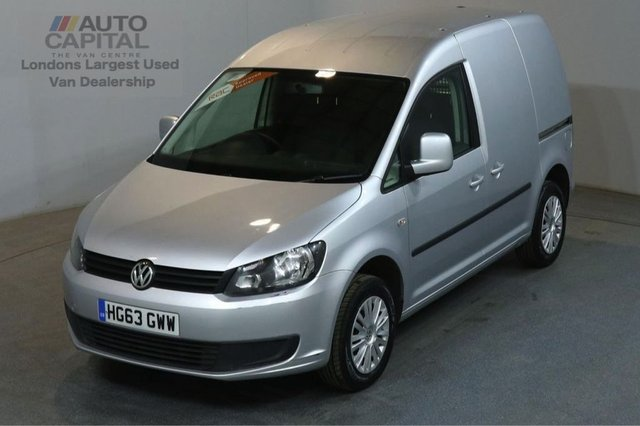 2013 63 VOLKSWAGEN CADDY 1.6 C20 TDI TRENDLINE 102 BHP SWB START STOP VAN  ONE OWNER FULL S/H SPARE KEY