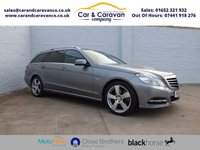 2011 MERCEDES-BENZ E CLASS 2.1 E220 CDI BLUEEFFICIENCY AVANTGARDE ED125 5d AUTO 175 BHP £9245.00