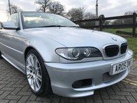 USED 2005 05 BMW 3 SERIES 2.5 325CI SPORT 2d AUTO 190 BHP