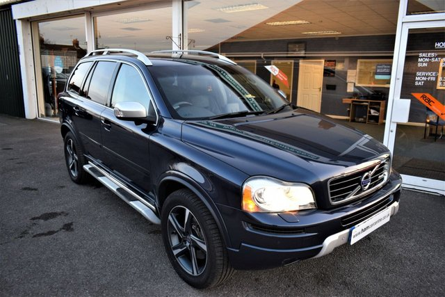 2012 12 VOLVO XC90 2.4 D5 R-DESIGN AWD 5d 7 Seater AUTO 200 BHP BIG-SPEC