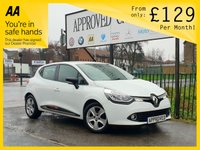 USED 2016 65 RENAULT CLIO 1.1 DYNAMIQUE NAV 16V 5d 73 BHP 0% Deposit Plans Available even if you Have Poor/Bad Credit or Low Credit Score, APPLY NOW!