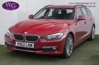 USED 2012 62 BMW 3 SERIES 2.0 320D LUXURY TOURING 5d 181 BHP