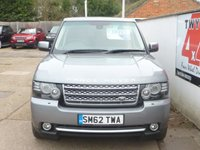 USED 2012 62 LAND ROVER RANGE ROVER 4.4 TDV8 WESTMINSTER 5d AUTO 313 BHP REAR SEAT ENTERTAINMENT,PRIVACY GLASS
