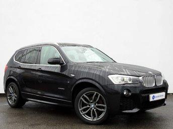 2014 BMW X3 3.0 XDRIVE30D M SPORT 5d AUTO 255 BHP £21995.00