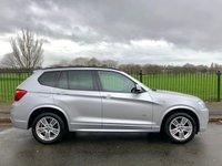 2013 BMW X3 2.0 XDRIVE20D M SPORT 5d AUTO 181 BHP £16995.00