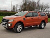 2015 FORD RANGER 3.2 WILDTRAK 4X4 DCB TDCI 1d AUTO 197 BHP £SOLD