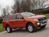 USED 2015 15 FORD RANGER 3.2 WILDTRAK 4X4 DCB TDCI 1d AUTO 197 BHP