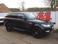 2015 LAND ROVER RANGE ROVER SPORT 3.0 SDV6 HSE 5d AUTO 288 BHP £37995.00
