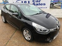 USED 2014 14 RENAULT CLIO 0.9 DYNAMIQUE MEDIANAV ENERGY TCE ECO2 S/S 5d 90 BHP