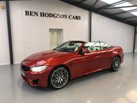 2016 BMW M4 3.0 M4 COMPETITION PACKAGE 2d AUTO CONVERTIBLE 444 BHP £39995.00