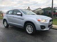 USED 2015 15 MITSUBISHI ASX 2 stunning example 52000 miles 2 owners every invoice from new