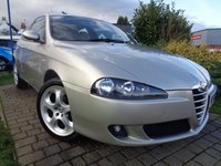 USED 2006 56 ALFA ROMEO 147 1.9 JTD 16V M-JET LUSSO 3d 148 BHP **1 Former Keeper Leather Extensive Service History 9 Stamps 12 Months Mot**