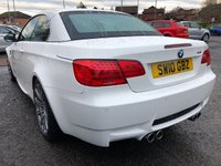 USED 2010 10 BMW M3 4.0 M3 Convertible 2d AUTO 415 BHP