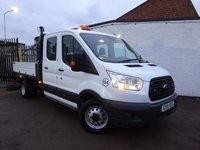 USED 2015 15 FORD TRANSIT TRANSIT 2.2 TDCI 350 L3H1DOUBLE CAB RWD1-WAY TIPPER