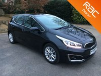 USED 2016 16 KIA CEED 1.6 CRDI 2 ISG 5d 134 BHP Still Under Kia Warranty, Alloy Wheels, Rear Parking Sensors, Bluetooth