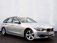 USED 2014 14 BMW 3 SERIES 2.0 318D SE TOURING 5d 141 BHP ELECTRIC TAILGATE+HEATED SEATS+BLUETOOTH