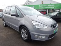USED 2011 61 FORD GALAXY 1.6 ZETEC 5d 160 BHP 7 SEATER..... £0 DEPOSIT FINANCE AVAILABLE....CALL TODAY ON 01543 877320