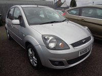 2007 FORD FIESTA 1.2 STYLE 16V 3d 78 BHP £2489.00
