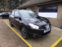 USED 2011 11 NISSAN QASHQAI 1.5 N-TEC DCI 5d 110 BHP * FULL SERVICE HISTORY WITH 5 STAMPS * SATELLITE NAVIGATION * GLASS ROOF * 2 KEYS * BLUETOOTH *