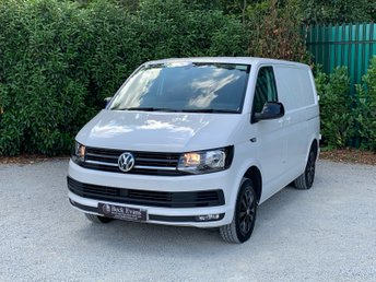 2018 VOLKSWAGEN TRANSPORTER 2.0 T28 TDI P/V HIGHLINE BMT 1d 101 BHP FULL DIAMOND STITCHED LEATHER £18499.00