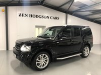 USED 2016 16 LAND ROVER DISCOVERY 3.0 SDV6 LANDMARK 5d AUTO 255 BHP Rear Entertainment! Top Spec!