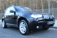 USED 2007 07 BMW X3 X3 3.0D M SPORT A RARE 3L MANUAL WHICH HAS ONLY HAD ONE OWNER FROM NEW!!!
