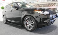 "USED 2013 63 LAND ROVER RANGE ROVER SPORT 3.0 SDV6 HSE DYNAMIC 5d AUTO 288 BHP PAN ROOF+BLACK PACK+21"" ALLOYS"