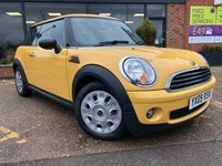 2009 MINI HATCH ONE 1.4 ONE 3d 94 BHP £4295.00