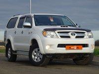 2009 TOYOTA HI-LUX 3.0 4X4 D-4D D/C 1d AUTO 169 BHP £10990.00