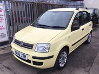 USED 2009 59 FIAT PANDA 1.2 ELEGANZA 5d 59 BHP Low mileage, 5 door, economical, low insurance, superb.