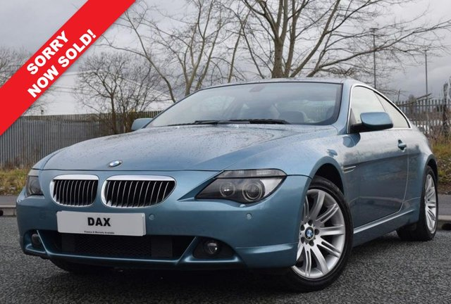 2005 55 BMW 6 SERIES 4.8 650I 2d AUTO 363 BHP