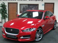 USED 2015 65 JAGUAR XE 2.0 R-SPORT 4d AUTO 178 BHP